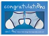 Sock Ons Congratulations Boy _