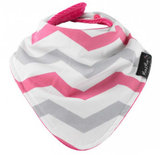 Mum2Mum Fashion Bandana Wonder Slab Chevron Roze