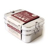 grote RVS lunchbox