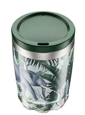 Chilly's Coffee Cup 340ml Tropical Elephant