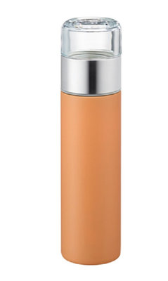 Thermo MUG voor losse thee Oranje