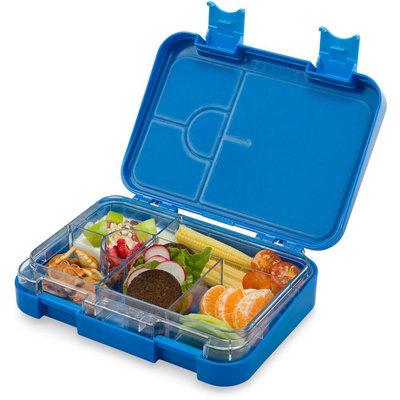 Schmatzfatz Junior lunchbox 4/6 vakken - Blauw