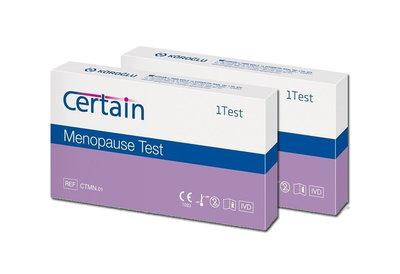 2 x Menopauze test