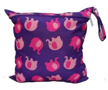 Wetbag pink elephant
