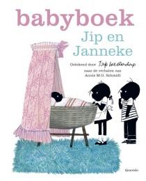 Babyboek Jip en Janneke roze