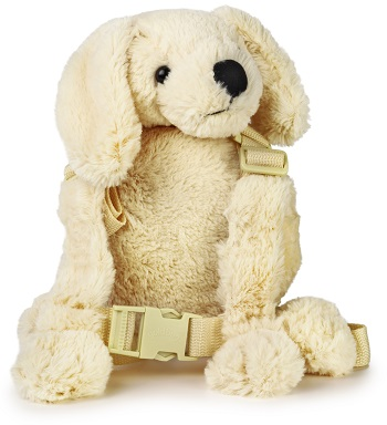 Kindertuigje / rugzakje Puppy (wit)