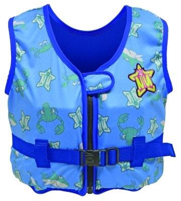 Kinderzwemvest blauw 2-4 jaar