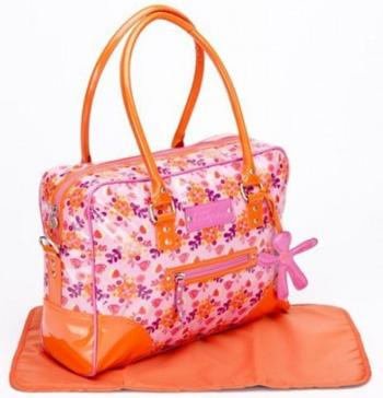 Luiertas Today Glossy Oranje-Roze