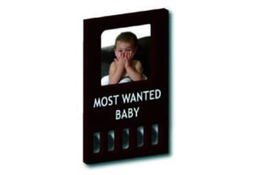 GRATIS BIJ MINIMALE BESTELLING VAN €40: My first 'most wanted baby' (zwart)
