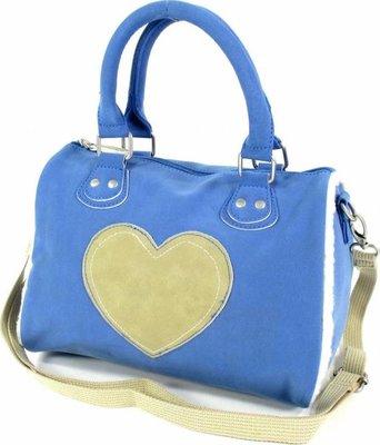 GRATIS BIJ MINIMALE BESTELLING VAN €40: BFF Schoudertas Lammy Love (blauw)