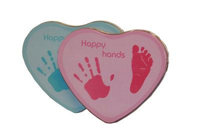 Happy hands blauw