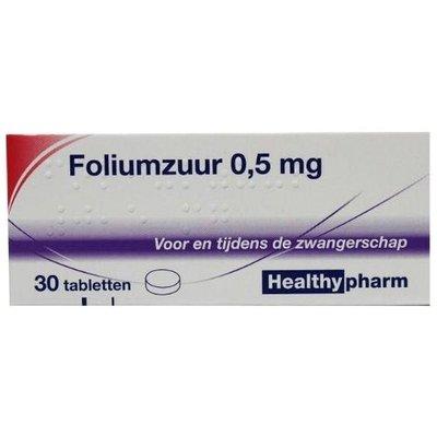 Healthypharm Foliumzuur 30 tabletten