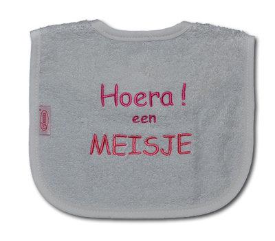 GRATIS BIJ MINIMALE BESTELLING VAN €20: Slab 'Hoera! een meisje'