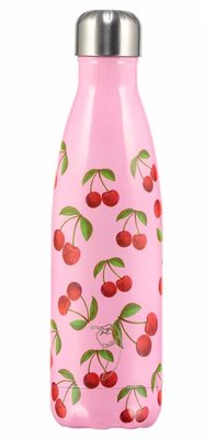 Chilly's geïsoleerde drinkfles 500ml Cherrys