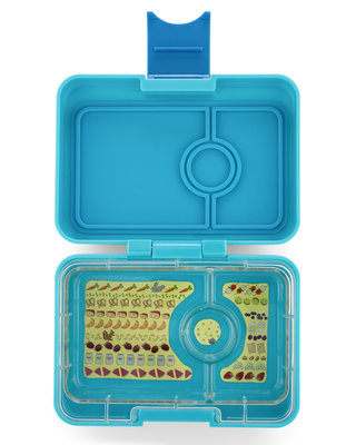 Yumbox Mini 3-vakken (Blue Fish)