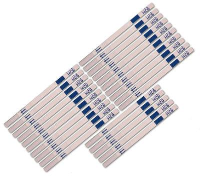 25 zwangerschapstesten dipstick (Certain) - Let op datum