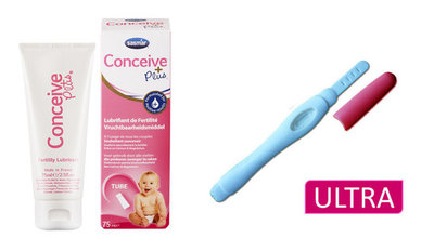 Conceive Plus 75 ml. + gratis zwangerschapstest