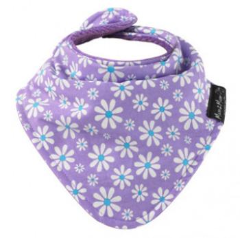 Mum2Mum Fashion Bandana Wonder Slab Purple Daisies