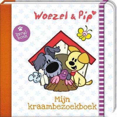 Mijn kraambezoekboek - Woezel & Pip