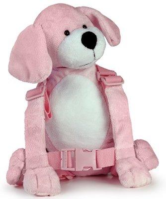 Kindertuigje / rugzakje Puppy (roze)