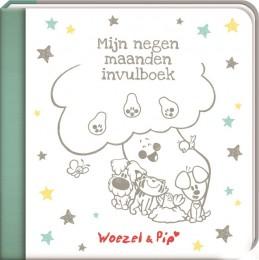 Mijn 9 maanden invulboek - Woezel & Pip