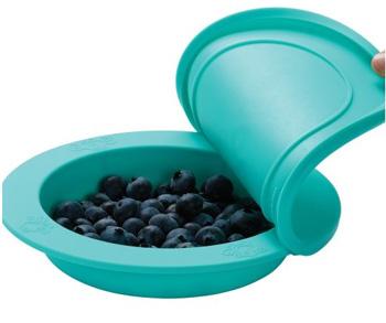 OOGAA maaltijdkom met deksel (jewel blue)