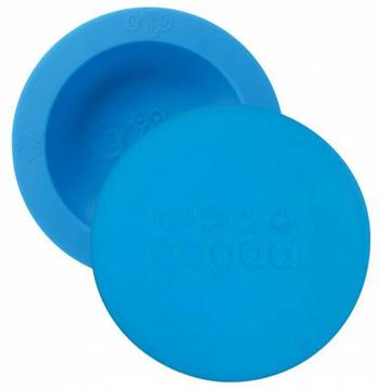 OOGAA maaltijdkom met deksel (blauw)