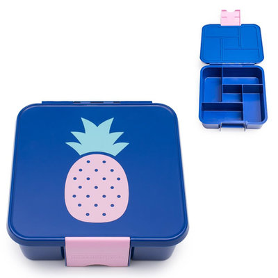 Little Lunchbox Ananas - 5 vakken
