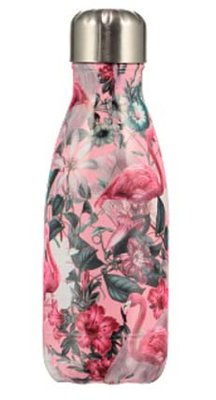 Chilly's geïsoleerde drinkfles 260ml Flamingo