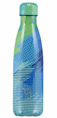 Chilly's geïsoleerde drinkfles 500ml Abstract Green