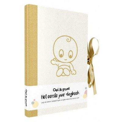 Oei ik groei mijn eerste jaar dagboek