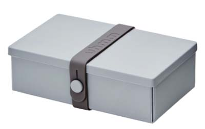 Uhmm Box rechthoekig Light Grey - Dark Grey