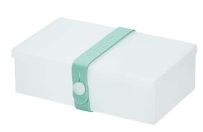 Uhmm Box rechthoekig Transparant - Mint
