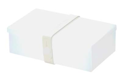 Uhmm Box rechthoekig Transparant - White