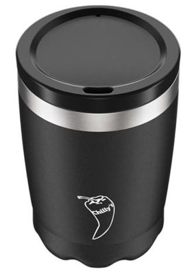 Chilly's Coffee Cup 340ml Black Matte