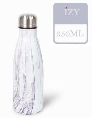 IZY fles Design Purple/White 350 ml.