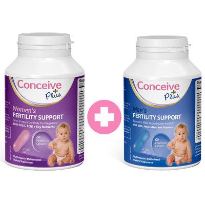 Fertility Support voor man en vrouw van Conceive Plus