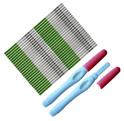 50 ovulatietesten dipstick + GRATIS 2 zwangerschapstesten midstream