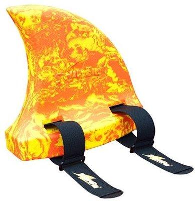 SwimFin zwemhulp (marble oranje)