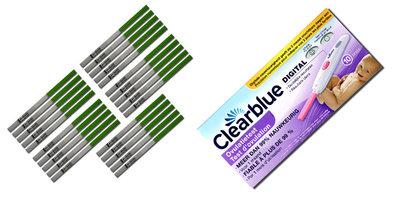 Combinatiepakket 9 + GRATIS 3 zwangerschapstesten