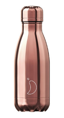 Chilly's geïsoleerde drinkfles 260ml Rose Gold
