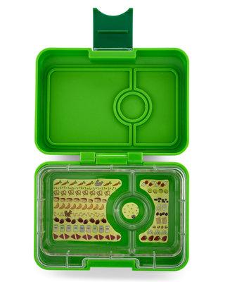 Yumbox Mini 3-vakken (Avocado Green)
