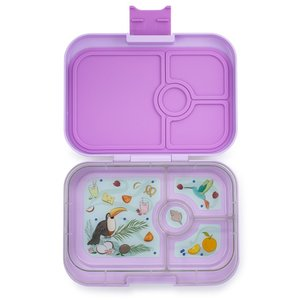 paarse bento lunchbox