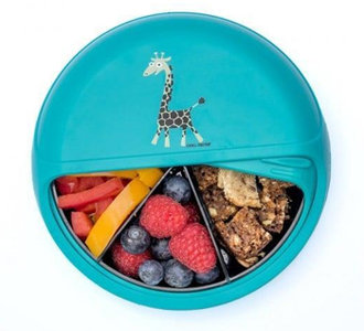 Snackbox met vakjes
