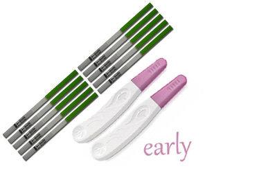 combinatiepakket ovulatietesten en zwangerschapstesten