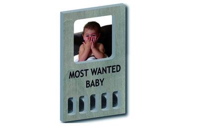 GRATIS BIJ MINIMALE BESTELLING VAN €40: My first 'most wanted baby' (grijs)