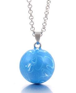 Zwangerschapsketting basic (lichtblauw)