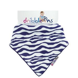 Dribble Ons Zebra stripe
