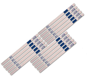 15 zwangerschapstesten dipstick (Certain) - Let op datum