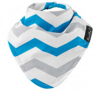 Mum2Mum Fashion Bandana Wonder Slab Chevron Aqua